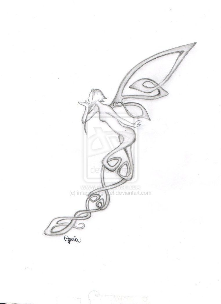 Love This Celtic Fairy Ideas For Ink Fairy Tattoo Designs