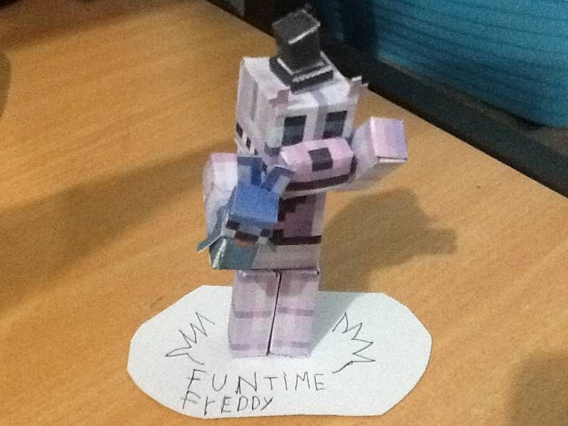 Papercraft Fnaf Sister Location Funtime Freddy Fnaf