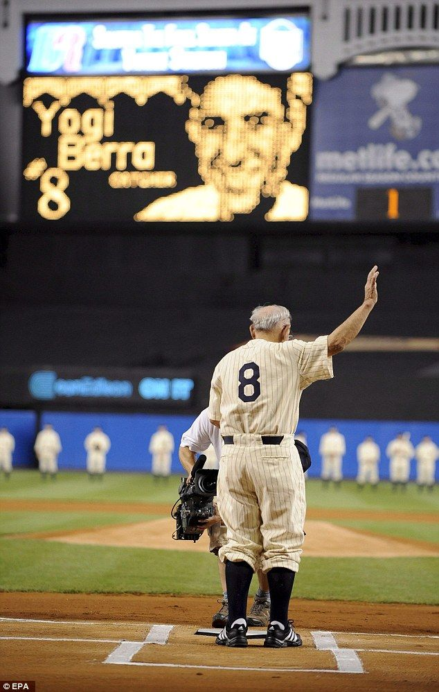 Yogi Berra, baseball legend and inspiration for Yogi Bear