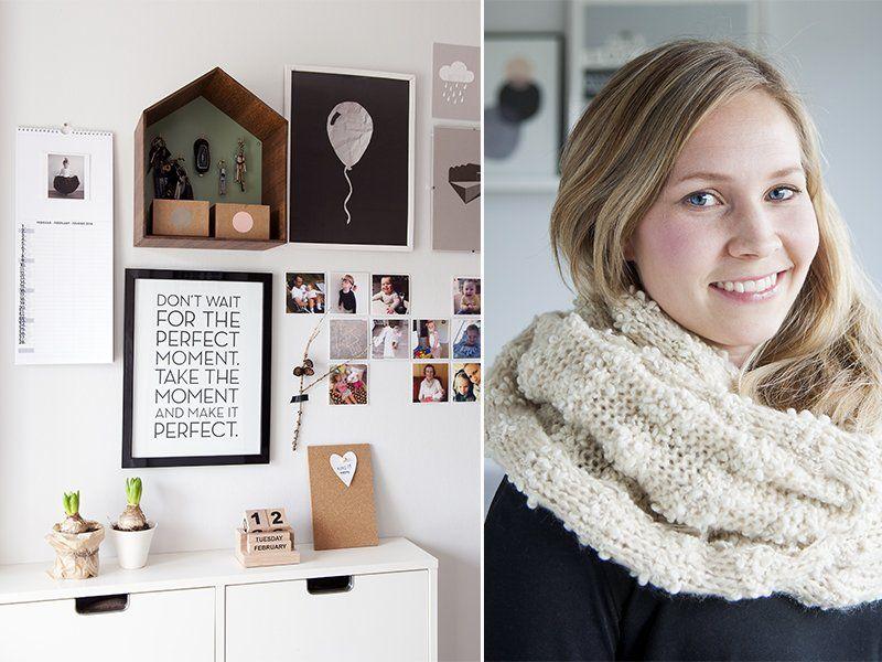 La maison de la blogueuse Anne-Marte Waleur - Boligpluss.no  || Photo Julie Lucy Rth - Styling Marie Svanevik