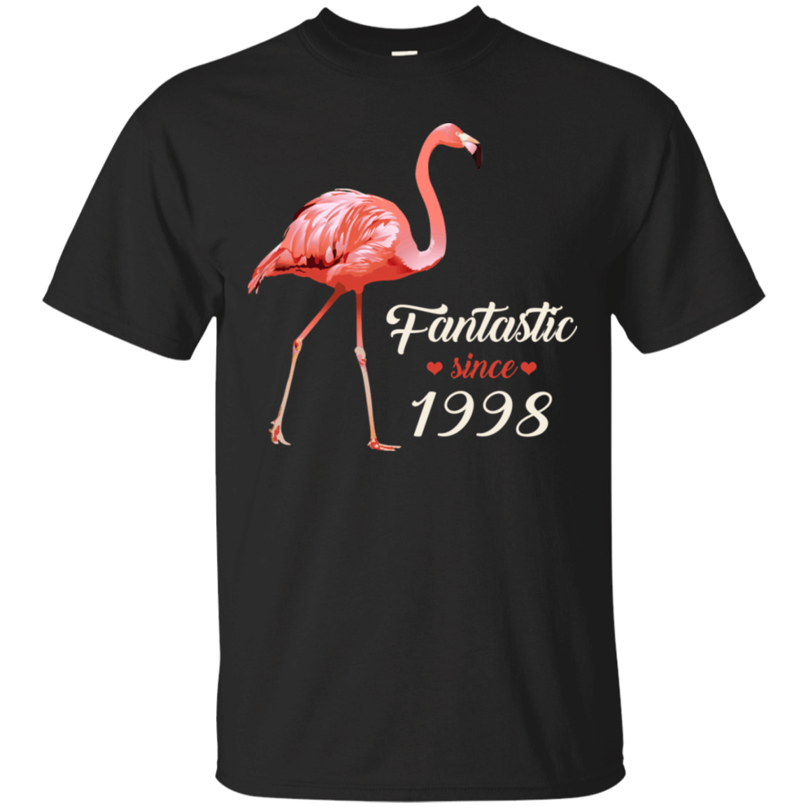 Pink Flamingo Fantastic Since 1998 Birthday Shirt HT01 Women 1998 Birthday Flamingo celebrate birthday, awesome since 1998, pink flamingo, flamingo lover, awesome and fabulous. Perfect gift for Birthday, anniversaries or any occasion. This product is made on demand Print And Ship From The USA