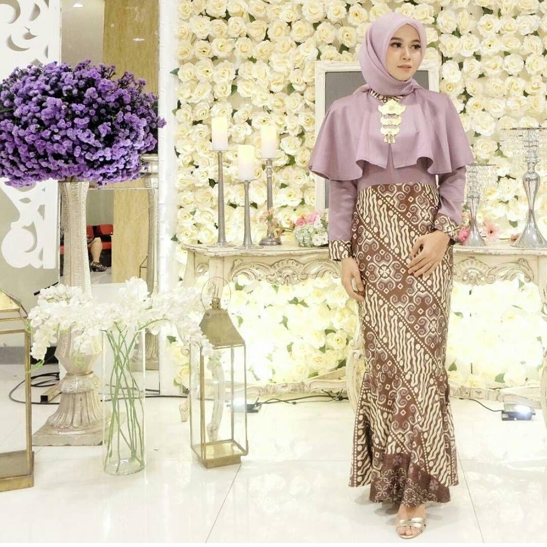 Model Batik Modern Untuk Pesta  Wanita, Model baju wanita, Model