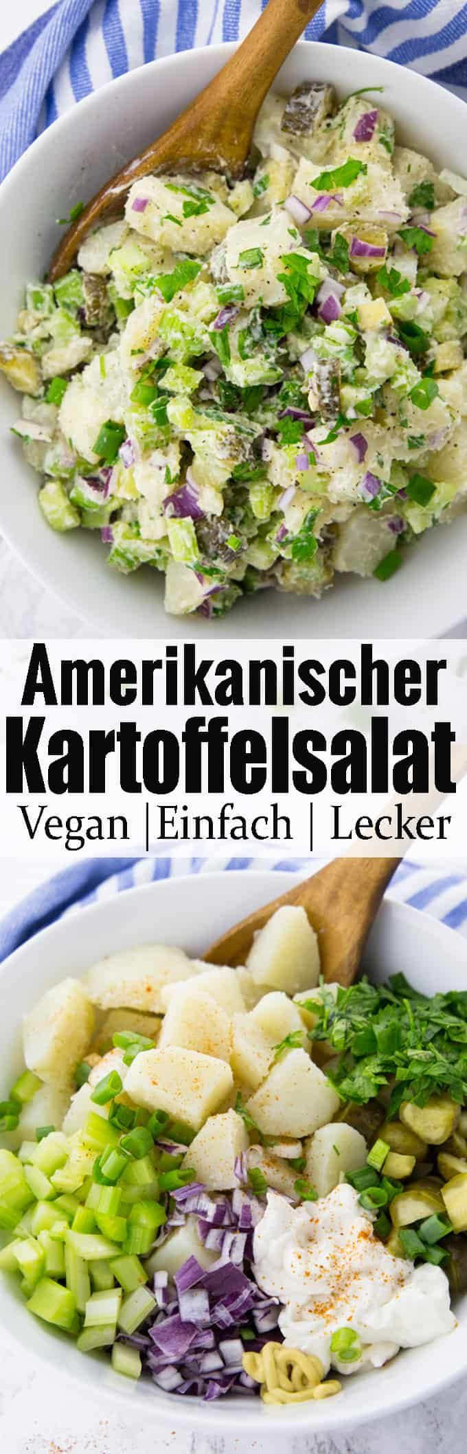 Veganer Kartoffelsalat #potatosalad