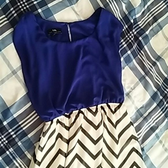 Chevron Sleeveless High-Low Dress Size Small Juniors size small. No rips, stains, etc. In perfect condition. Dresses High Low