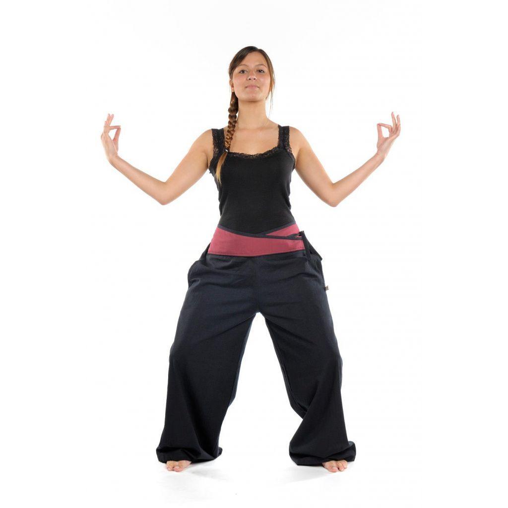Pantalon sarouel yoga homme femme Panavel - FantaZia-Shop Sewing 5b93d0e432a