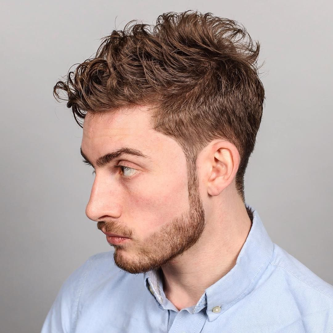 Medium Hairstyles For Men hair color trend