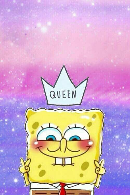 Queen, spongebob, and wallpaper image Wallpaper iphone