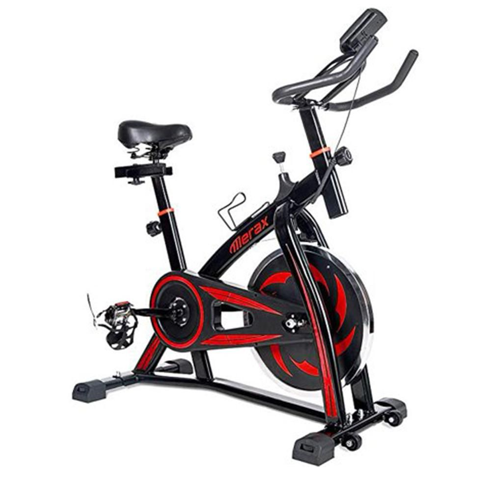 Merax Red Indoor Cycling Bike Cycle Trainer Exercise Bicycle In