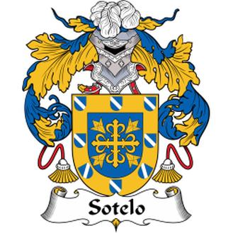 Sotelo Family Crest Escudo De La Familia Escudo De Armas Apellidos Escudo De Armas