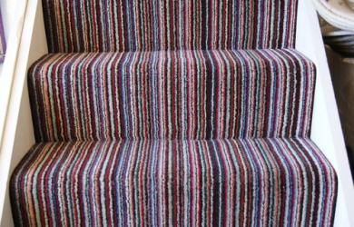 Essentials Candy Stripe Stair Runner Interiors Carpet
