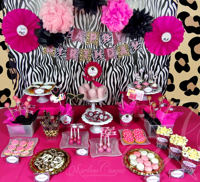 Diva Rock Birthday Party Ideas