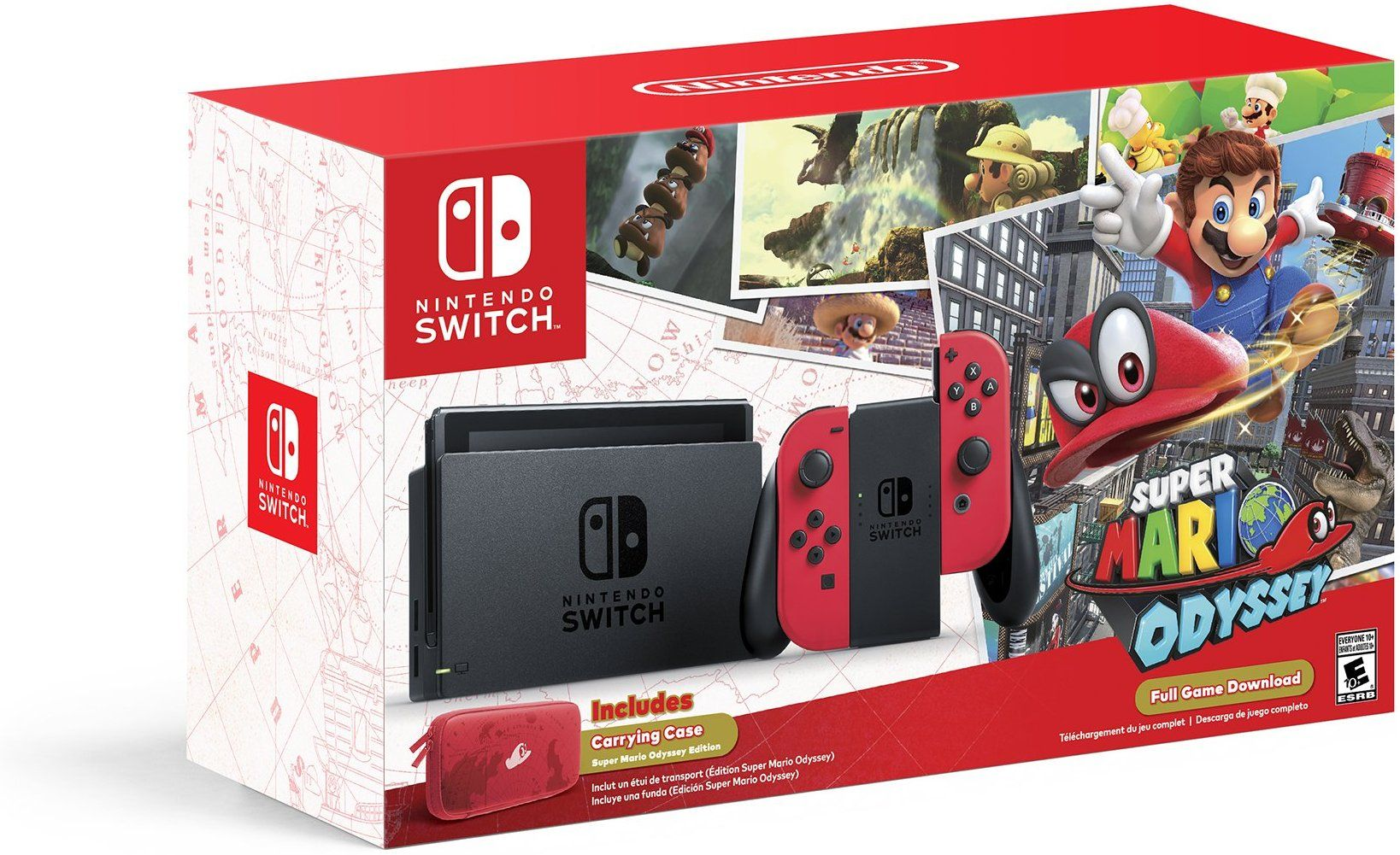Amazon Com Nintendo Switch Super Mario Odyssey Edition