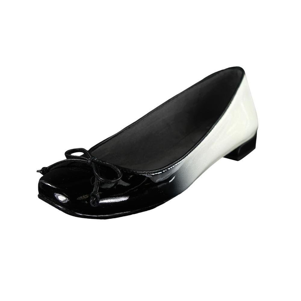 Stuart Weitzman Stringon Womens Size 6.5 White Ballet Flats Shoes : Amazon.com