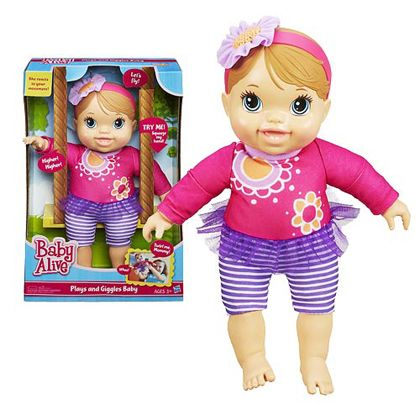 Baby Alive Plays And Giggles B With Images Baby Alive Girls Room Decor Girl S Room