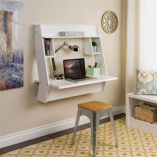 Wall Mounted Desk Smalldesk Desks For Small Spaces Floating Desk Wall Mounted Desk