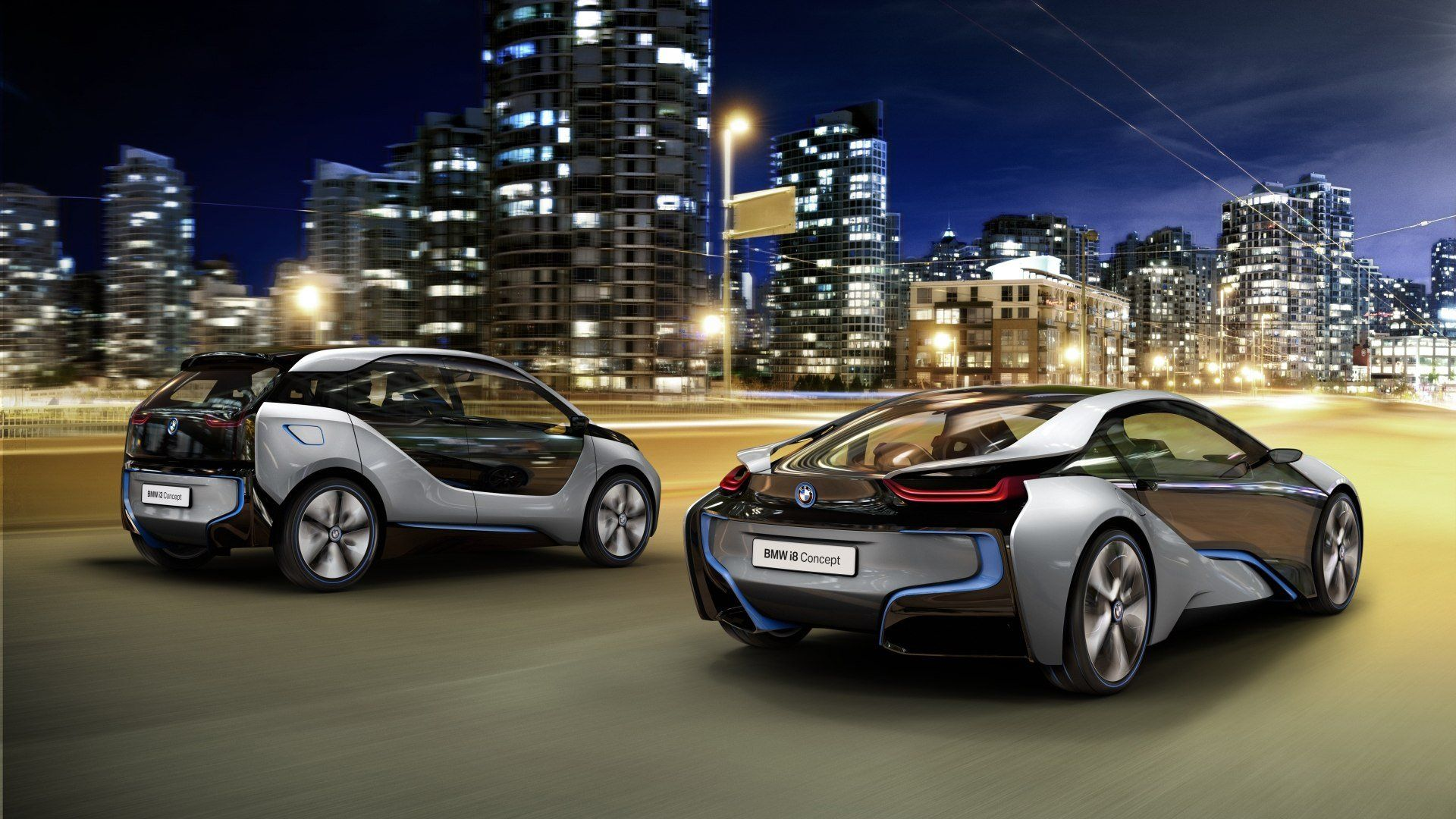 1920x1080 Bmw I3 Concept Side City Travel Hd Wallpapers 1080p Car