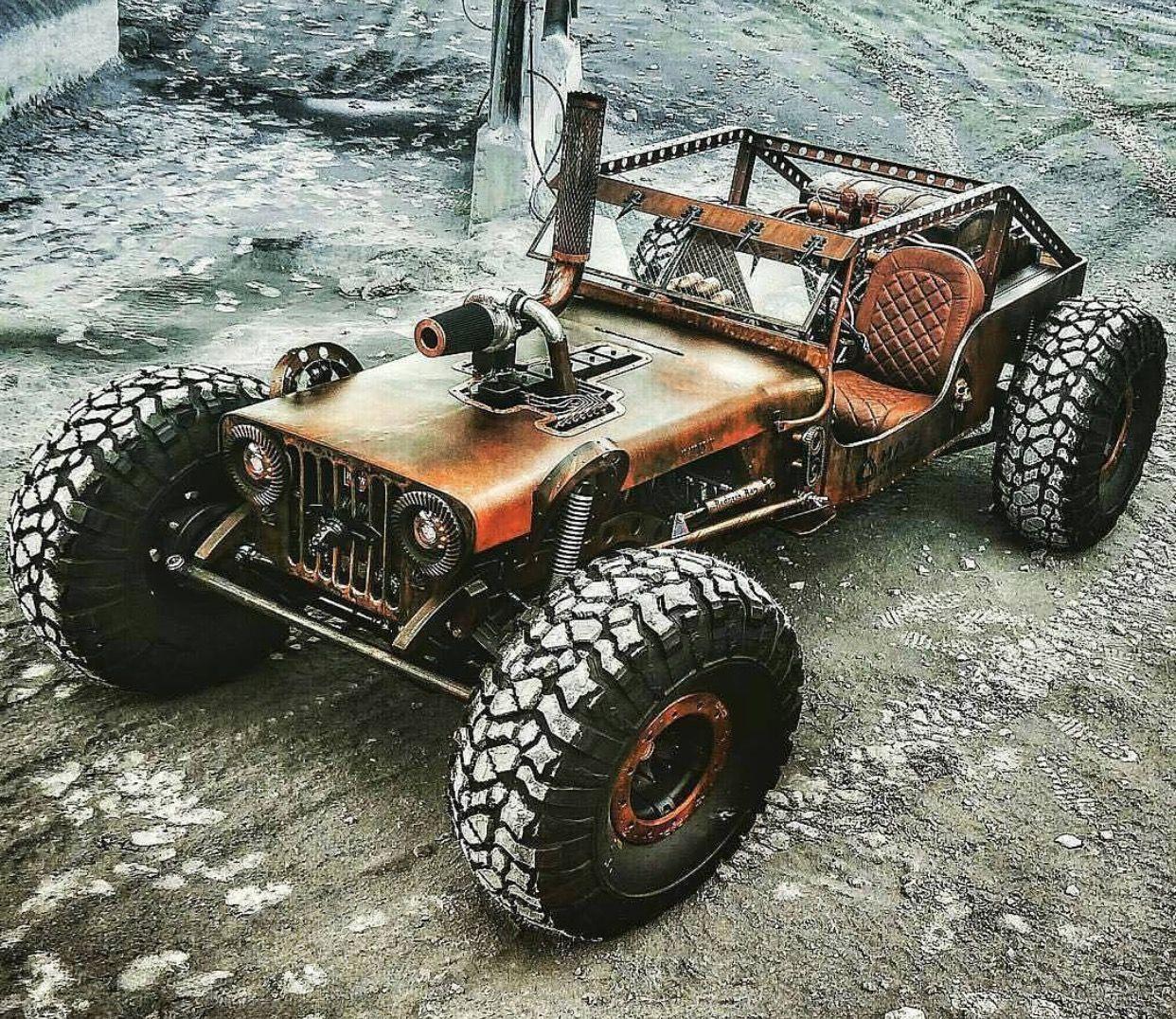 Rat Rods Truck, Jeep Rat Rod, Rat Rod