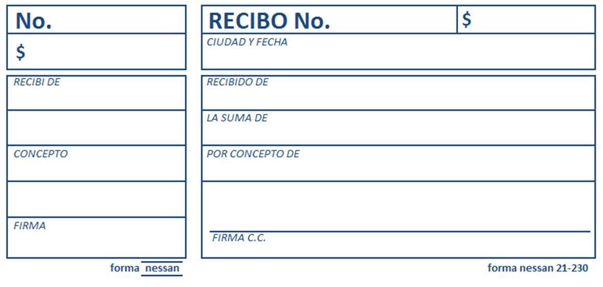 formato de recibo - Towerssconstruction