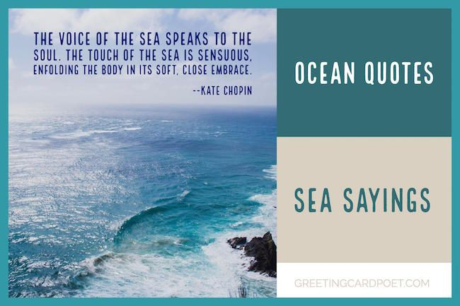 Ocean Quotes Ocean Quotes And Sea Sayings To Marvel At  Pinterest  Inspirational