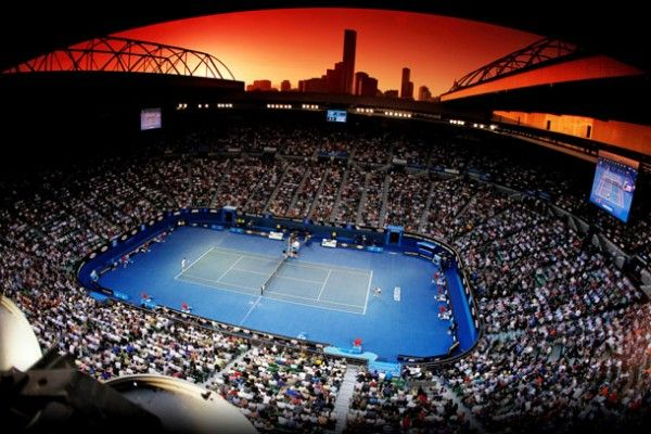January Rod Laver Arena Australian Open Melbourne Sports Venues