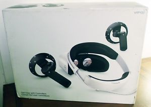 A Dell Visor Vrp100 Pc Virtual Reality Headset With