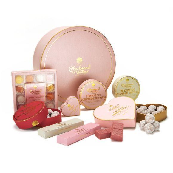 Charbonnel et Walker Pink Hamper Chocolate Assortment | Bloomingdales's | Chocolate assortment. Pink hamper. Charbonnel et walker