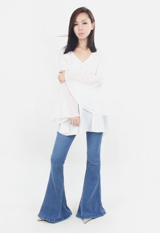 Soeurs Co Bella Bell Bottoms Jeans [S/M/L] Bell