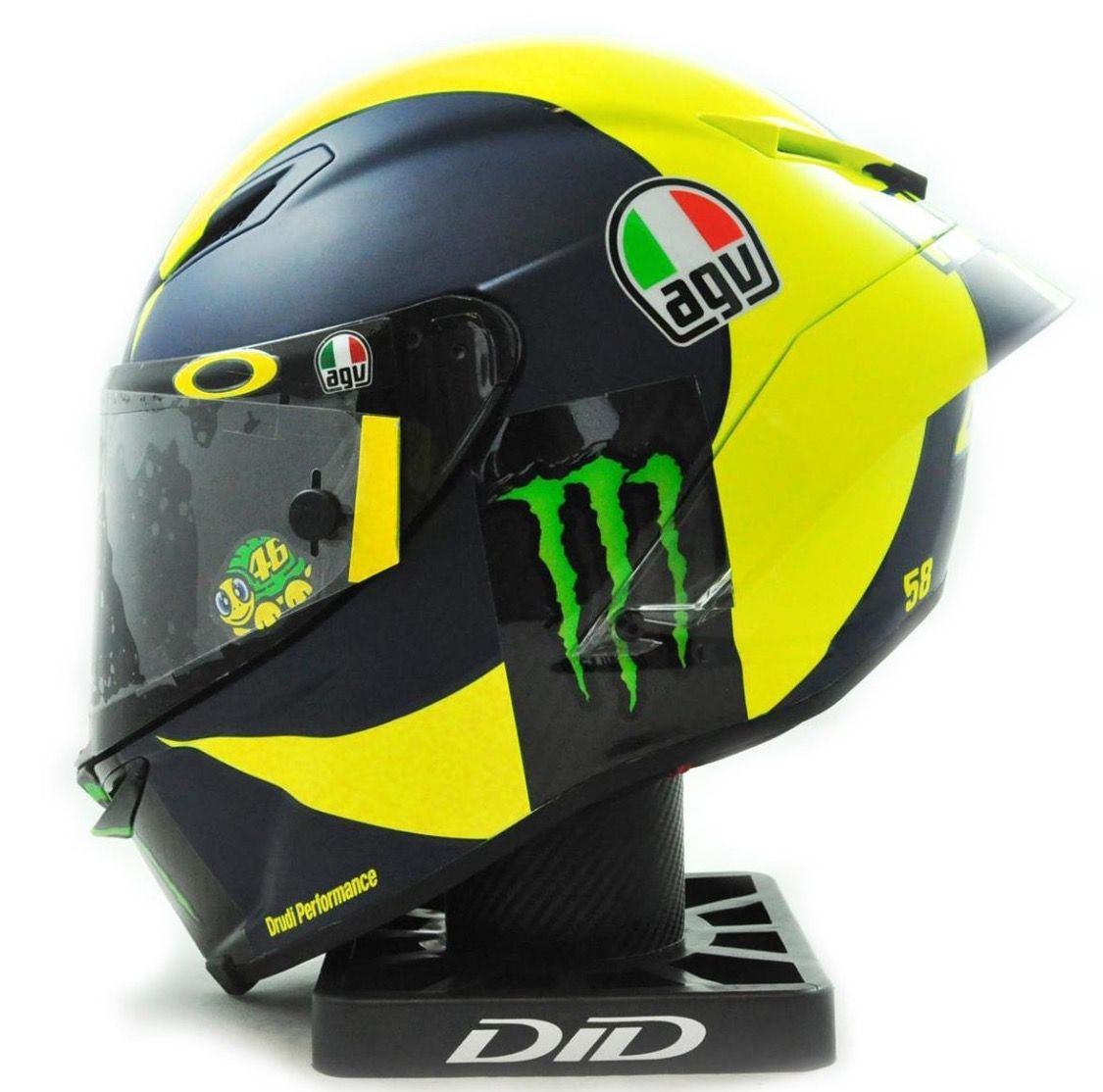 valentino rossi 2018 campaign agv helmet helmets. Black Bedroom Furniture Sets. Home Design Ideas