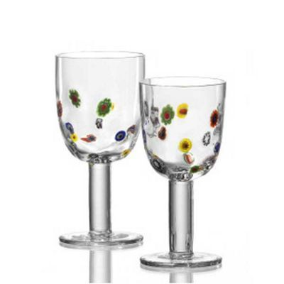 Millefiori Small Wine Glass At Debenhams Ie Large Wine Glass Glass Wine Glass