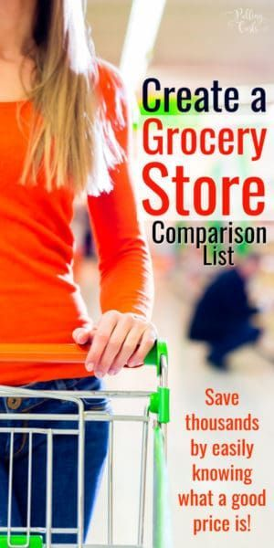 Grocery Price Comparisons Compare supermarket pricing easily - spreadsheet compare