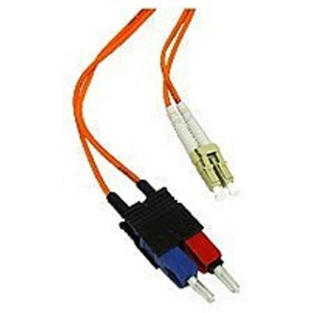 50M LC-LC Duplex 50//125 Multimode Fiber Optic Patch Cable Cord Jumper Orange New