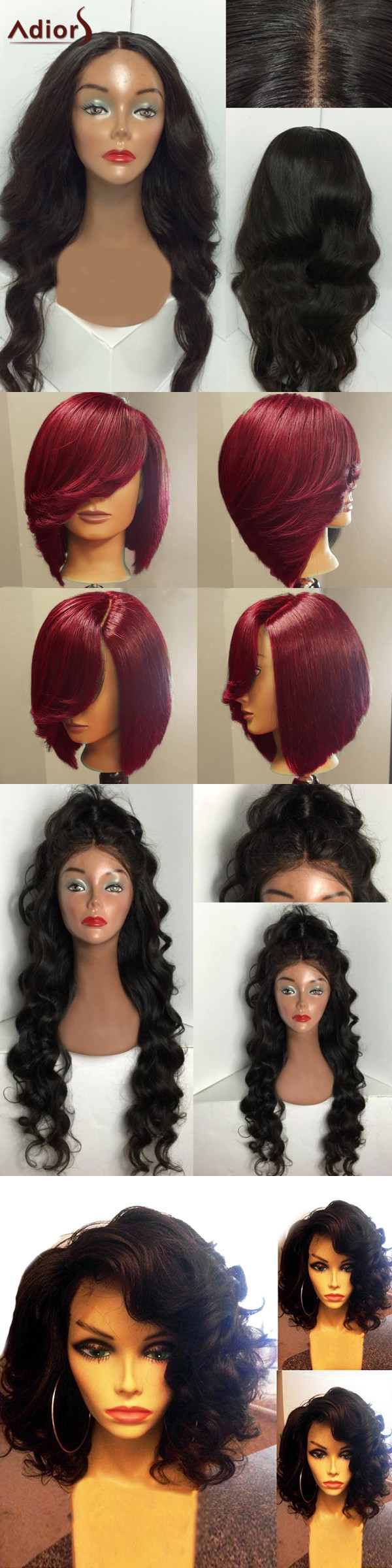 Freeshipping 500 Trendy Wigs For Your Hair Style Start From 2 99 Up To 65 Off Sammydress Com Hair Styles Wine Hair Color Wig Hairstyles
