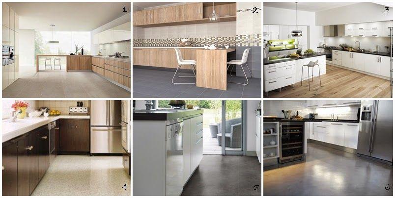 I d e a tipos de suelo para las cocinas cocina - Suelos de cocinas ...