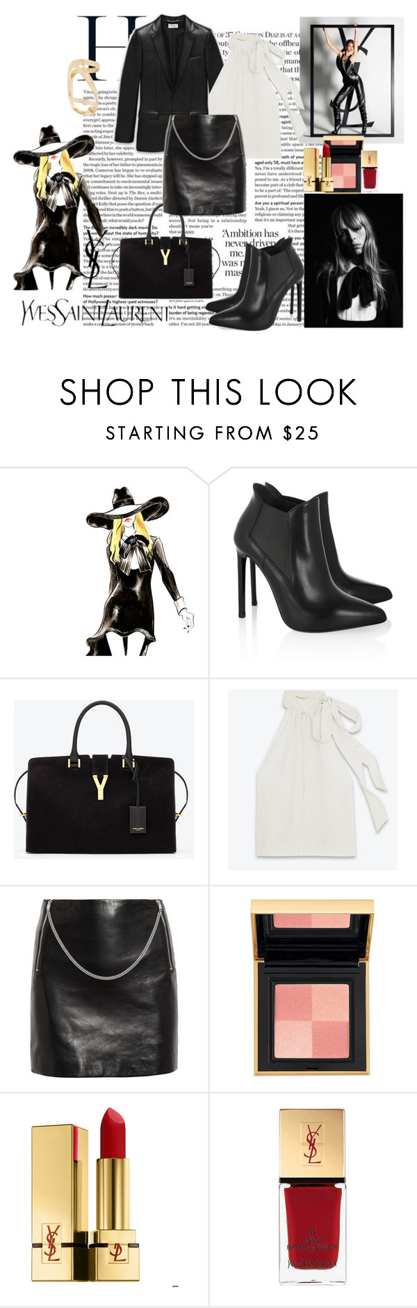 """""""Yves Saint Laurent"""" by jenica35 ❤ liked on Polyvore featuring Yves Saint Laurent"""