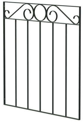 Blooma Swirl Top Metal Gate H 0 85m X W 0 77m 5397007009804