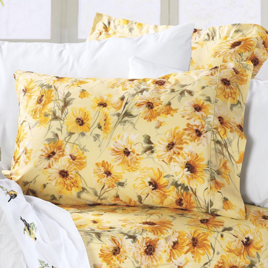 Susanna percale bedding ensemble home decor pinterest for Sunflower bedroom decor