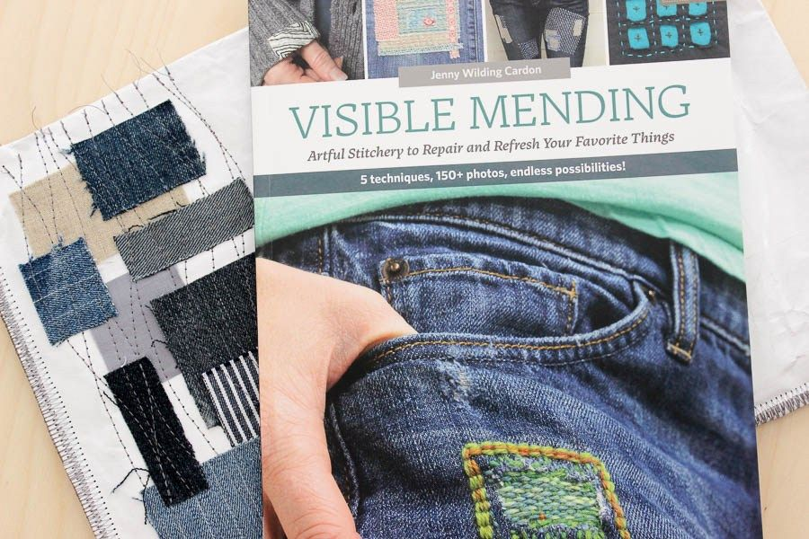 Visible Mending A Book Review Visible Mending Boro Stitching