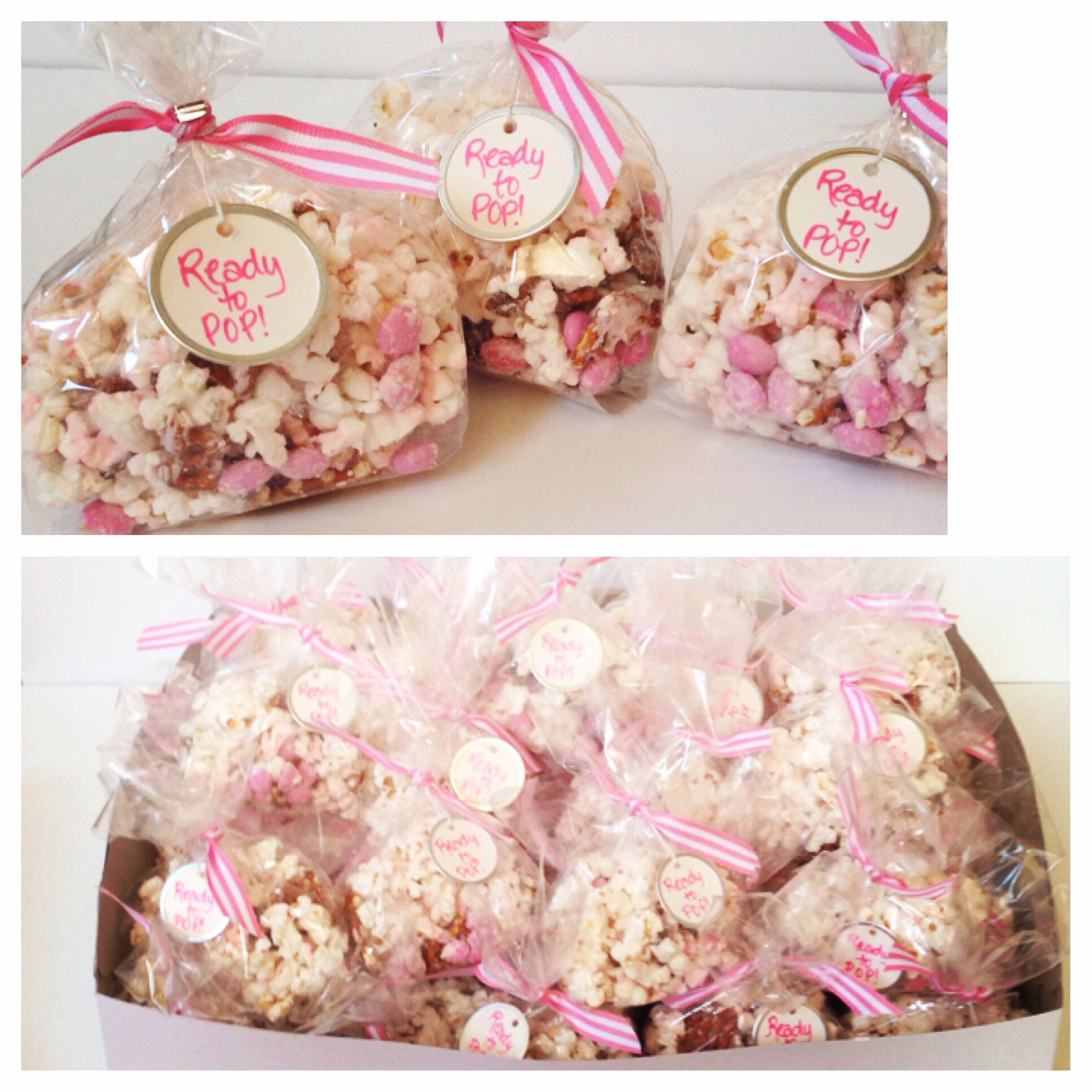Baby Shower Favors Chocolate ~ Favor bags baby shower favors bridal popcorn