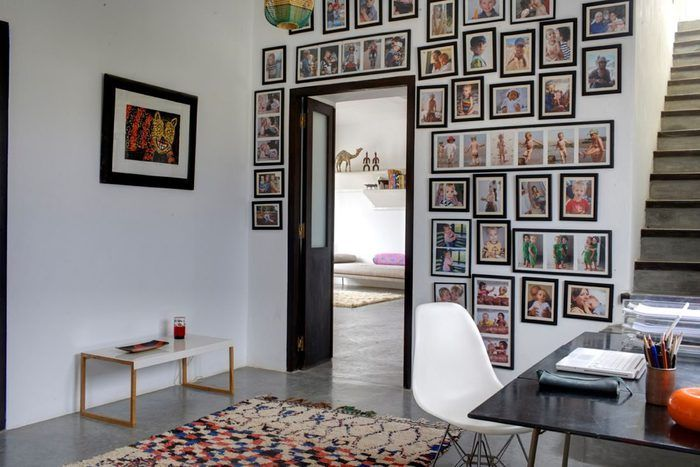 Love the Azilal (?) rug in this moroccan house !
