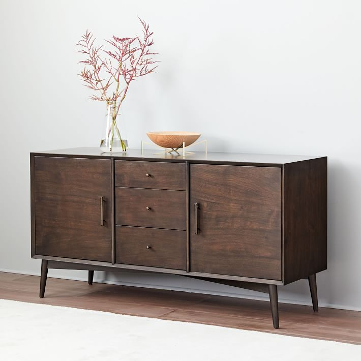 MidCentury Buffet Dark Mineral (With images) Mid