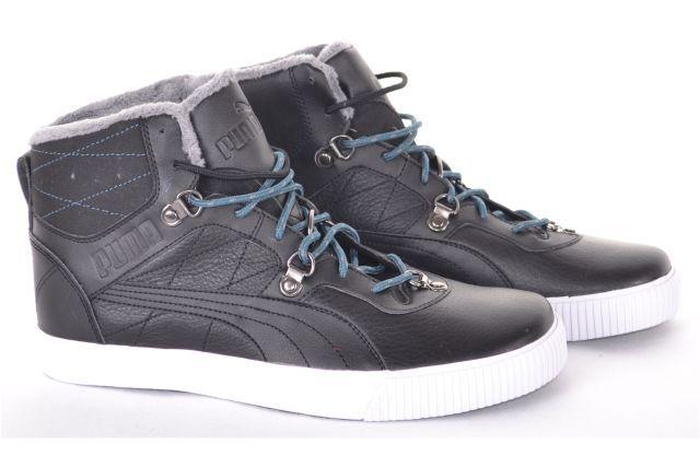 Buty Puma Tipton Tatau Czarne Ocieplane R40 5 Shoes High Top Sneakers Top Sneakers