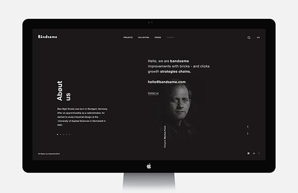 Bandsøme - UI | Abduzeedo Design Inspiration