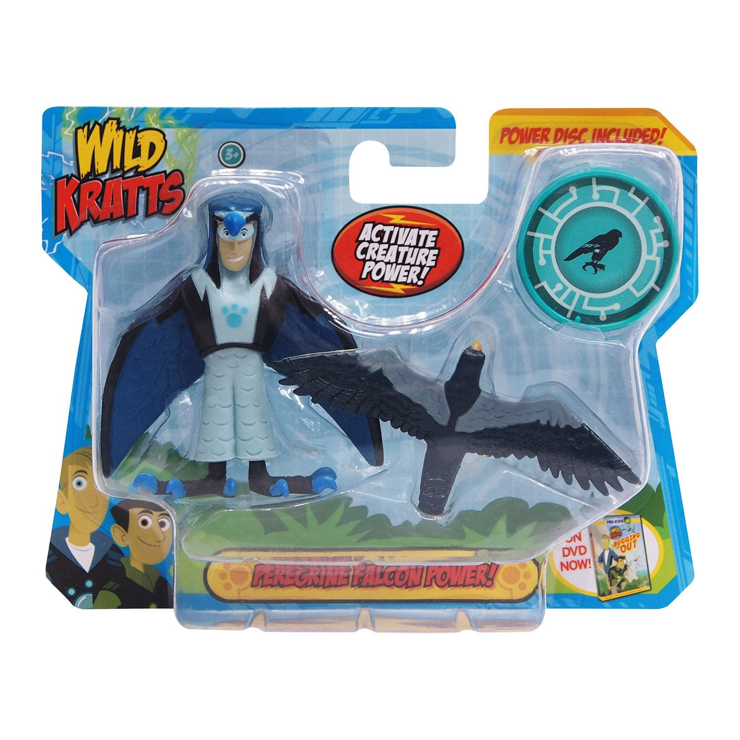 Wild Kratts Creature Power 2 Pack Falcon Powers Set