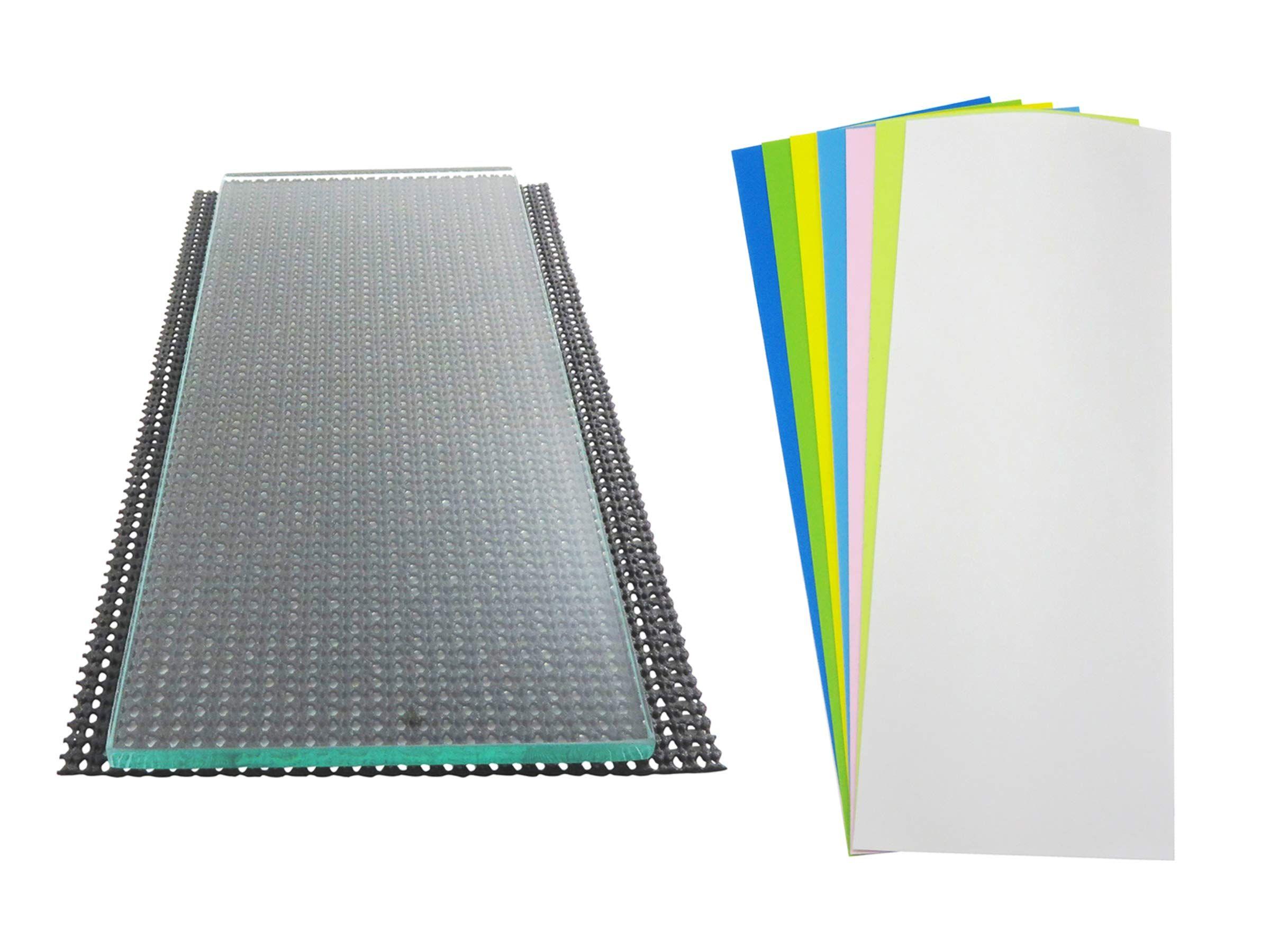 Taytools 279182 Single Sheet 5 16 X 6 X 12 Dead Flat Float Plate Glass With 7 Sheets 3m Tm La Best Sharpening Stone Pressure Sensitive Adhesive Single Sheets