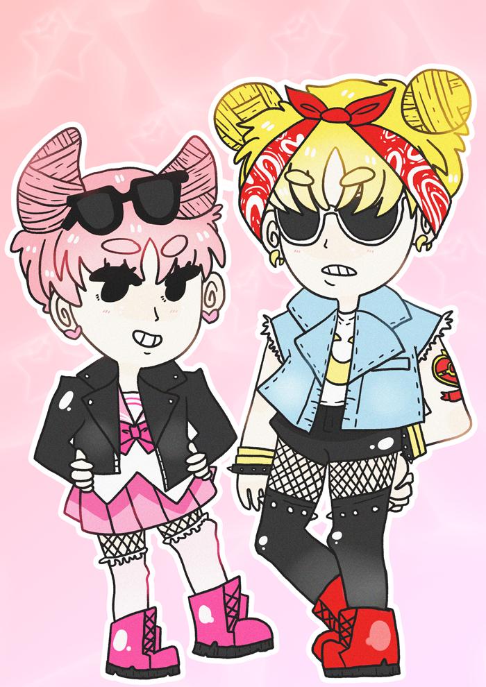 Punk! Sailor Moon by milkybanana
