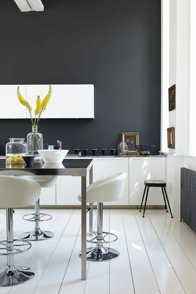 peinture cuisine moderne : 10 couleurs tendance | kitchens and