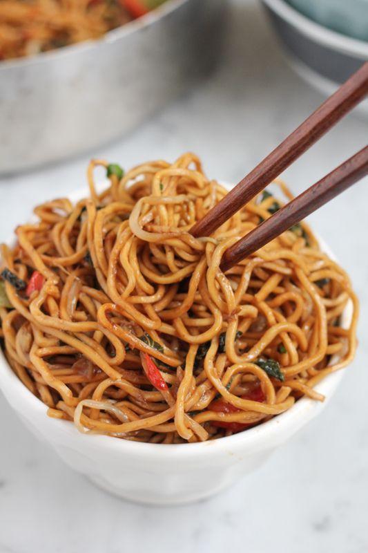 Vegetarian Chow Mein Recipe Food Recipes Food Healthy Recipes