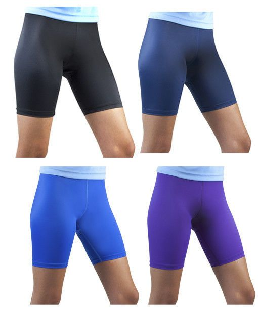 Purple Female Spandex Compression Womens Exercise Shorts Running Short Made  in the USA  AeroTechDesigns  FitnessShorts 3be9a3e730