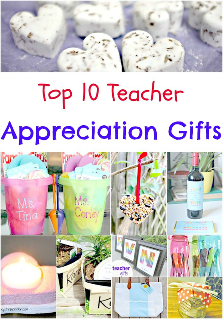 Top 10 Gifts to Make for Teacher