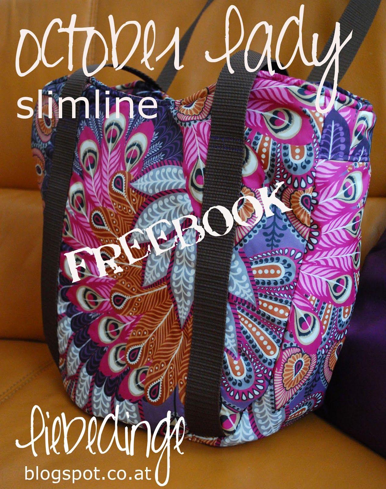 liebedinge: october lady - slimline!! [freebook] | Nähen: Taschen ...